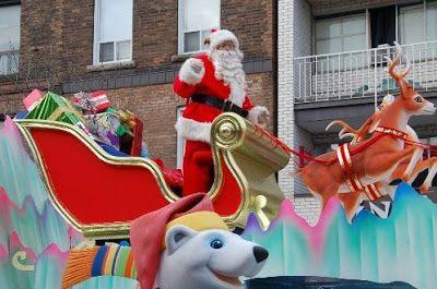 toronto santa claus parade 2015 - Google Search