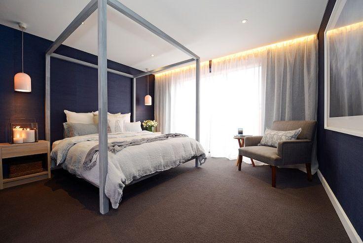 The Block Triple Threat Master Bedroom Reveals - Darren and Dea