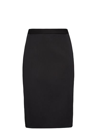 MANGO - Lateral slit pencil skirt