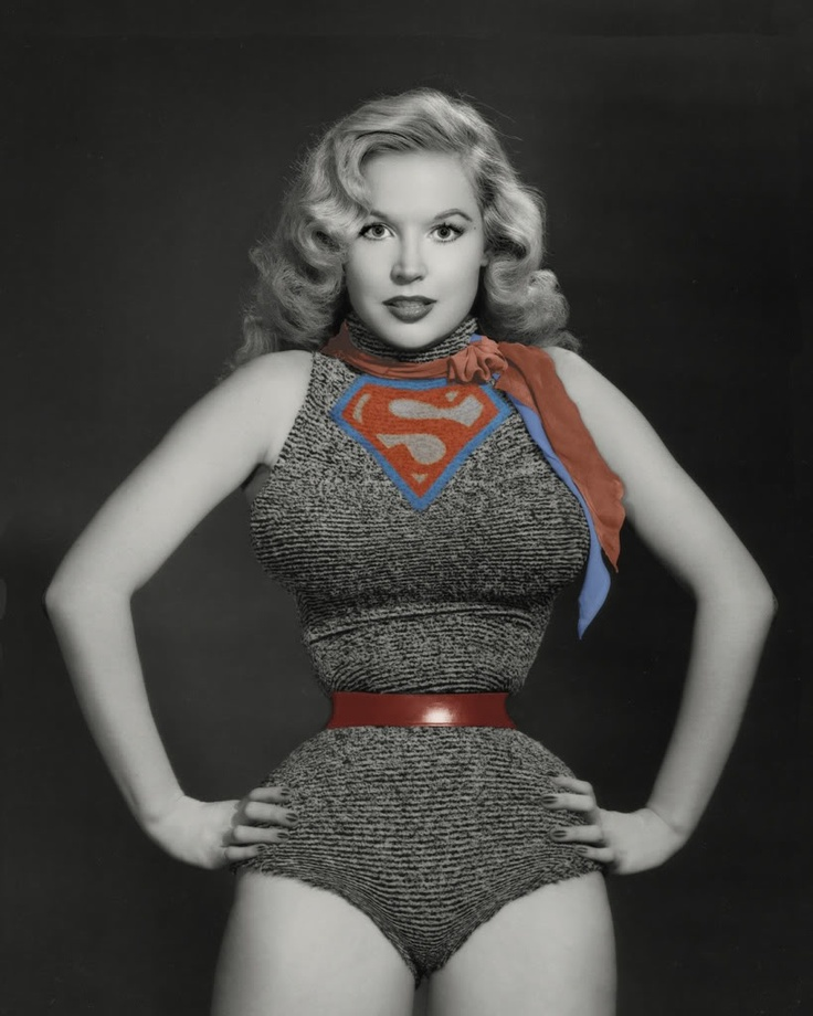 Betty Brosmer:Curves are beautiful for sure