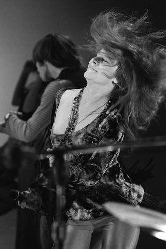 Janis rockin' and loving it!