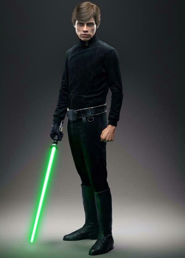 Luke Skywalker in Star Wars Battlefront. #starwarsbattlefront #starwars #LukeSkywalker