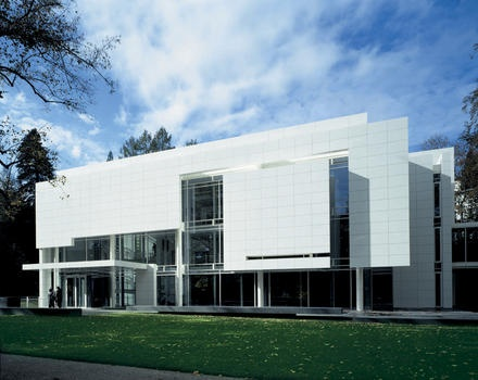 Burda museum, Baden Baden, by Richard Meier