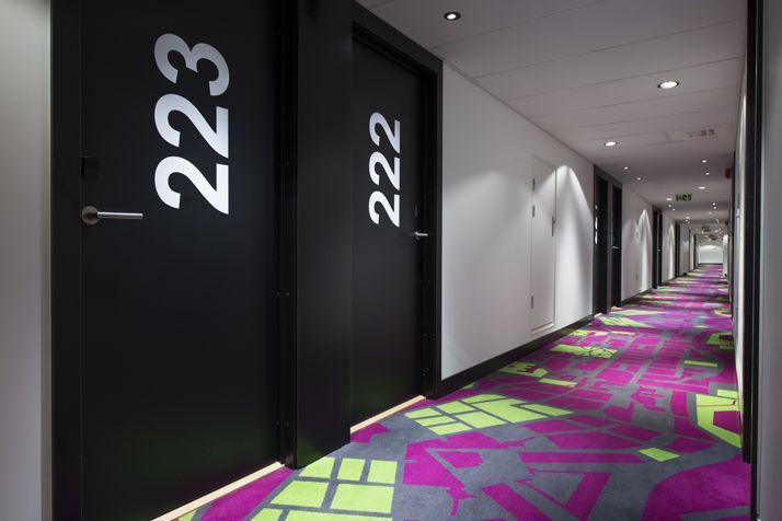 Hallway carpet. Interior architecture   Ramsoskar