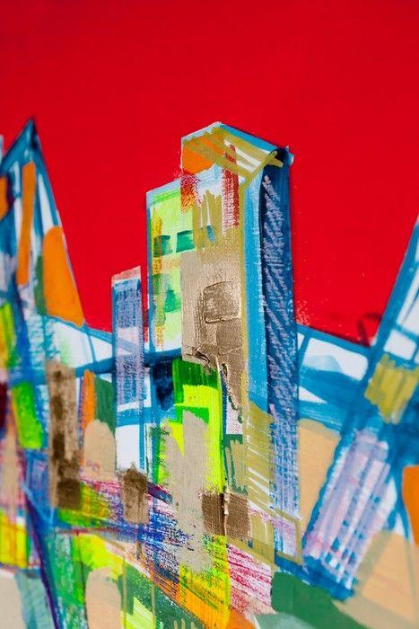 Buildings Cubism from $41.99   www.wallartprints.com.au #CubistArt #WallArtPrints