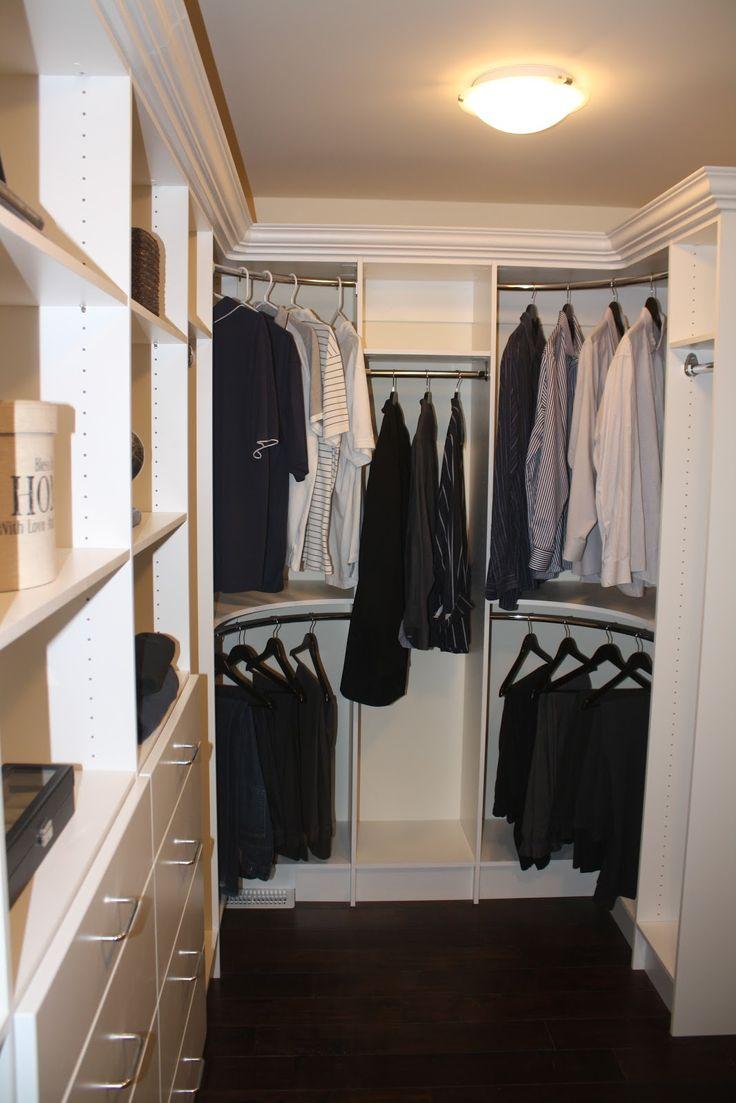 Ideas For Closet Corners