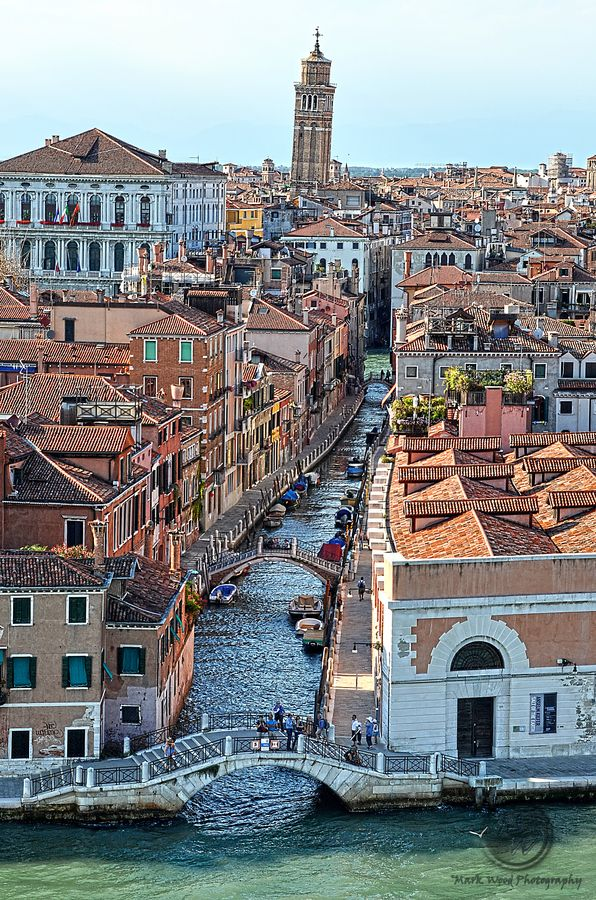 Venice Canal from Ship