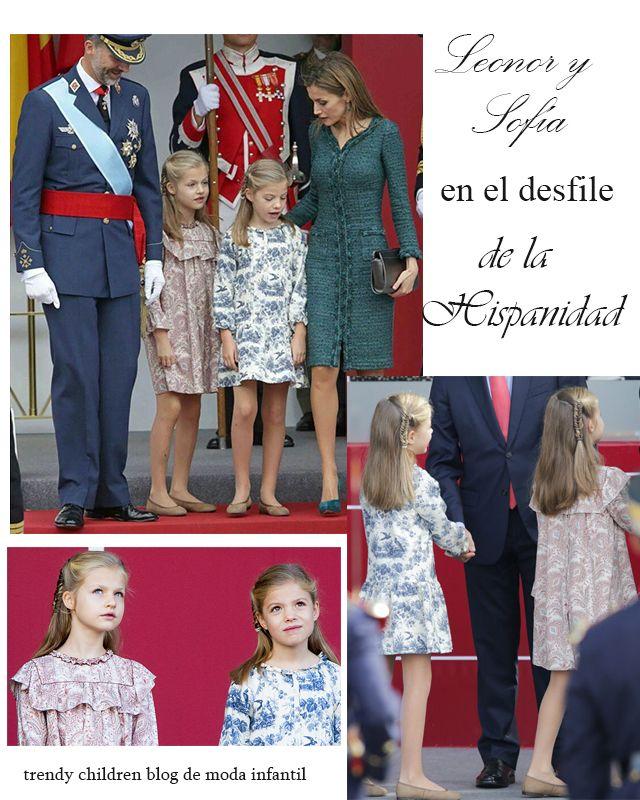 LOOKS LEONOR Y SOFÍA EN EL DÍA DE LA HISPANIDAD, GET THE LOOK