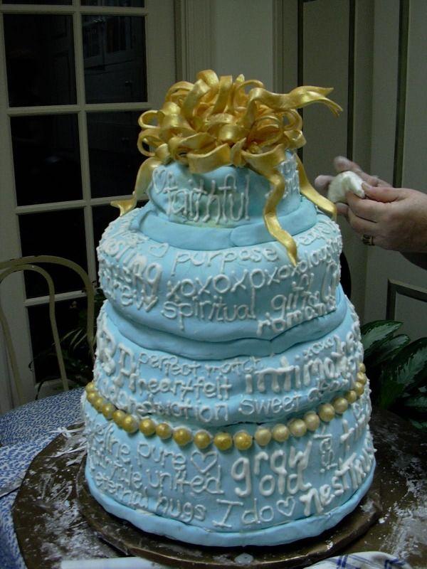 Tackiest wedding cakes