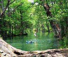 a list of the best Texas swimming holes