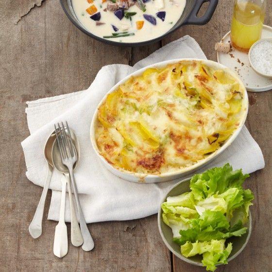ESSEN & TRINKEN - Kartoffel-Spitzkohl-Auflauf Rezept