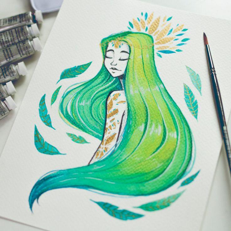 Lime Girl by Misspingu.deviantart.com on @DeviantArt