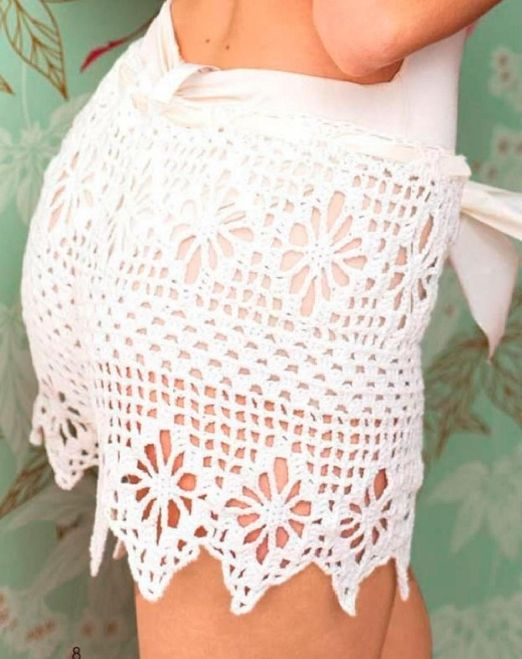 299 best short images on Pinterest | Crochet shorts, Crochet bikini ...