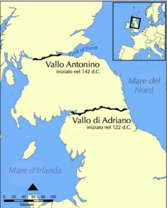 Sono a 40 minuti dal Vallo di Adriano...