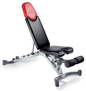 1. Bowflex Select-Tech 5.1 Adjustable Bench
