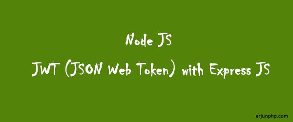 Today I am gonna show you JWT(JSON Web Token) token generating and verification steps with express JS framework. What is JWT (JSON Web Token)? A JSON Web Token, or JWT, is used to send information that can be verified and trusted by means of a digital signature. It comprises a compact and URL-safe JSON object, …