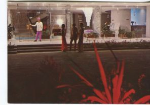 Unknown Postcard, Skanes Monastir, Tunisie, Hotel Ruspina, L'entree de l'hotel, HC55