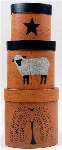 sheep, willow & star set