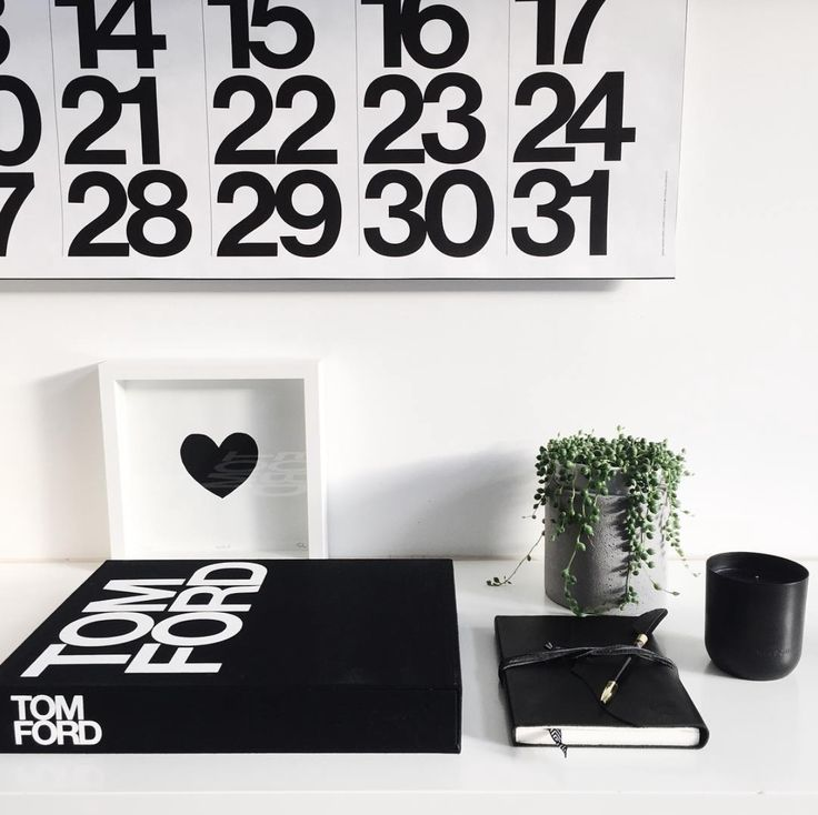 Taking office style cues from Sarah Dezeote with our Tom Ford Coffee Table Book and Leather Bound Journal….both available online at White & Co ✖️ www.whiteandco.com.au