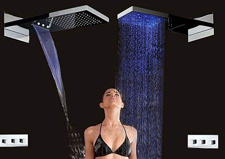 тропический душ и водопад