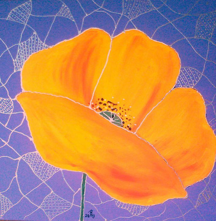 30x30cm - akryl na plátne