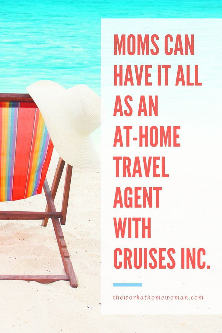15 best Work from Home images on Pinterest | Become a travel agent ...
