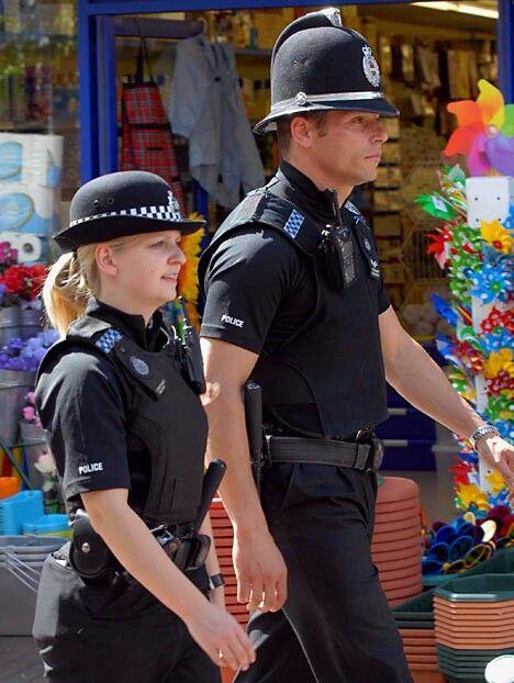 New Brit police uniforms