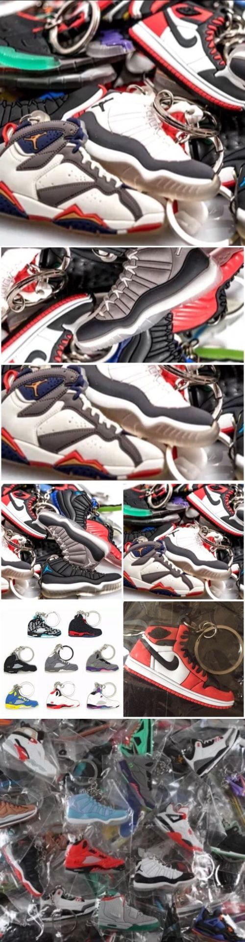 Key Chains Rings and Cases 52373: 100 Air Jordan, Yeezy, Lebron, Durant, Misc. Shoe Keychains - Random Pick By Us -> BUY IT NOW ONLY: $89.99 on eBay!