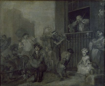 The Enraged Musician, c. 1741, William Hogarth. http://www.ashmoleanprints.com/image/1056117/william-hogarth-the-enraged-musician-c-1741