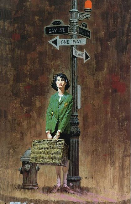 Robert McGinnis Vintage Pulp Art Illustration | Female-Centric Pulp Art | Sugary.Sweet | #Pulp #Art #Illustration