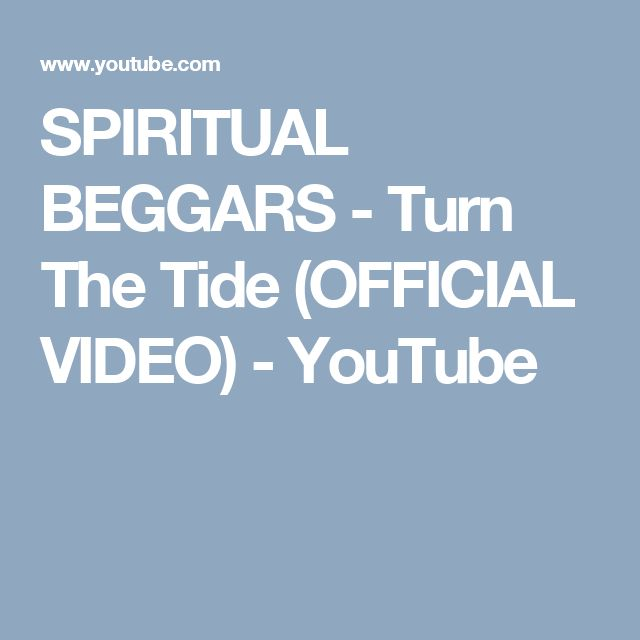SPIRITUAL BEGGARS - Turn The Tide (OFFICIAL VIDEO) - YouTube