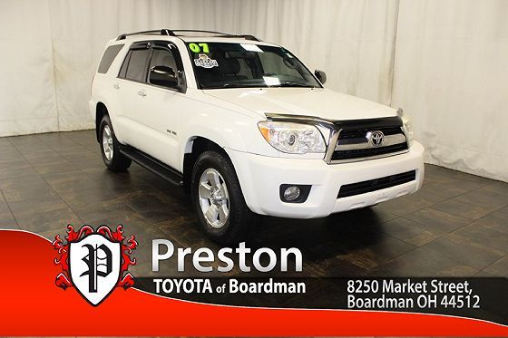 JTEBU14R578080253 | 2007 Toyota 4Runner SR5 for sale in Boardman, OH Image 1