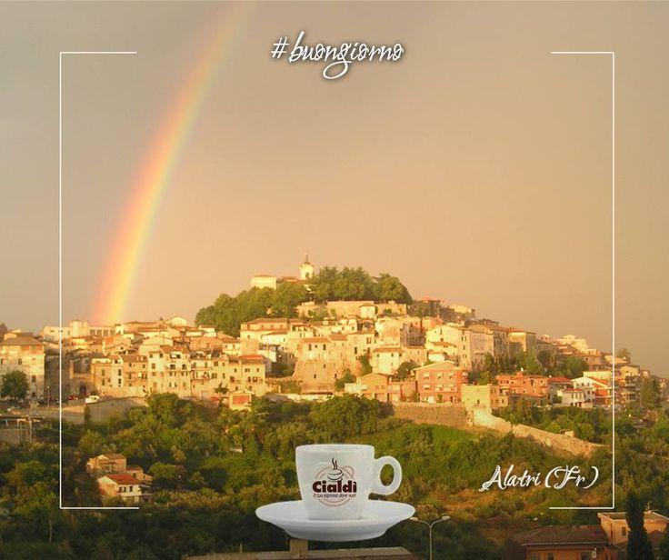 Buon lunedì il vostro caffè #cialdì ovunque siate... Oggi ci siamo svegliati ad Alatri (Fr) e voi? www.cialdi.it #coffeeexpress #alatri #frosinone #Coffee #CoffeeTime #Espresso #Caffeine #Cafe #CoffeeShop #Keurig #Latte #CoffeeAddict #Brew #LatteArt #Drink #Morningcoffee #CoffeeMaker #Cappuccino #Mug #Barista #Caffè #GoodMorning #CoffeeBeans