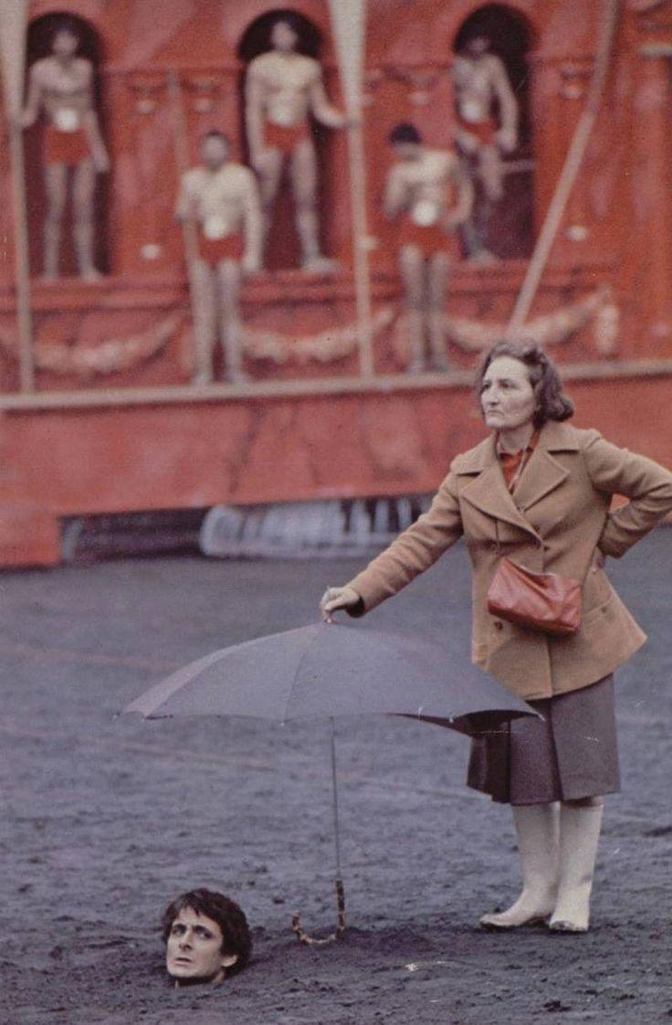"Guido Mannari on the set of ""Caligula"" directed by Tinto Brass, Bob Guccione & Giancarlo Lui, 1979"