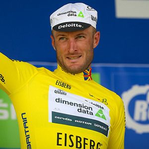 Steve Cummings who won the Tour of Britain title for Team Dimension Data for Qhubeka on Sunday.
