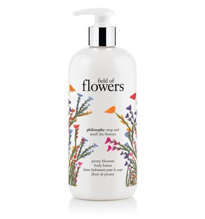 field of flowers body lotion from Philosophy.