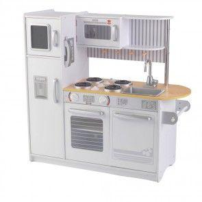 Moderne KidKraft Spielküche - Modell Uptown in Weiß