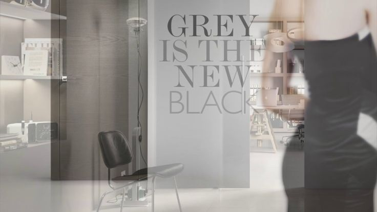 Gallisrl GREY IS THE NEW BLACK | www.finestreinpvc.net
