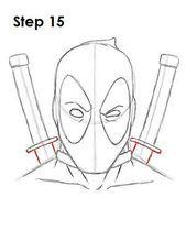 Deadpool Zeichnung