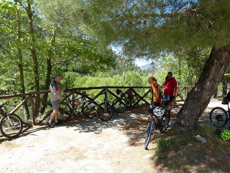 Biking on Thassos island, Greece!