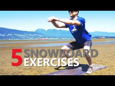 5 Snowboard Exercises for Beginner Training - SnowboardProCamp