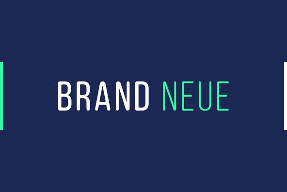 Brand Neue.Brand Neue is a condensed, sans serif with rounded terminals, set entirely in capitals. It's a s...