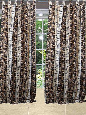 Mogul-Spanish-Curtains-Window-Panel-Brown-Tab-Top-Bedroom-Decor-Length-108    http://stores.ebay.com/mogulgallery