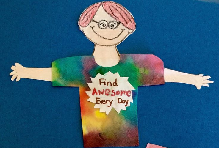 A cute and cheerful art idea to celebrate the awesome kids in your class! Great for many grade levels!