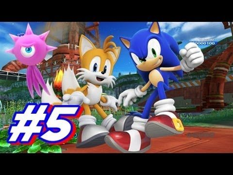 Let's Play Sonic Colors Wii Walkthrough - Part 5