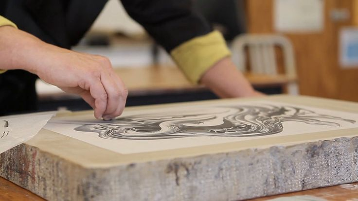 Visiting artist Cathie Bleck talks about her experience working as an artist-in-residence in the Printmaking Department at the Cleveland Institute of Art.