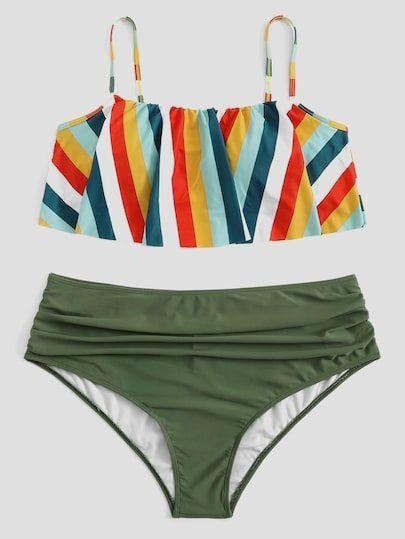 90cd14a5868c4 Pin by My Bikini Flex on MBF Flounce Bikini's in 2019   Flounce bikini,  Bikinis, Bikini set