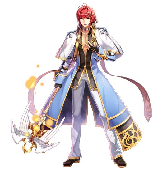 Best Character Design Courses : Male archbishop new costume official illustration