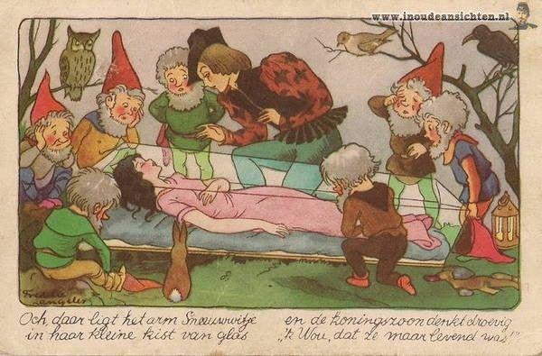 Dutch illustrator Freddie Langeler (Johanna Frederika ...