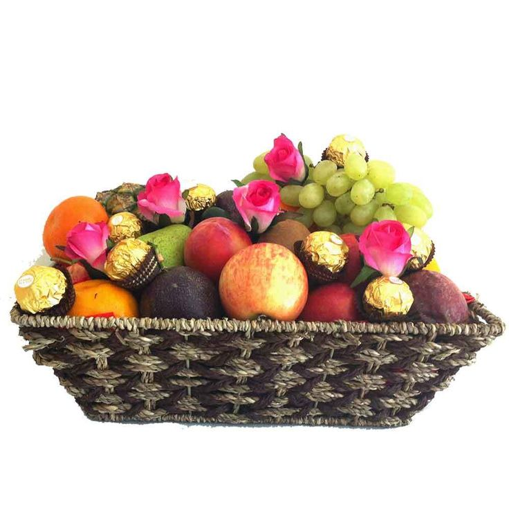 igiftFRUITHAMPERS.com.au - Fruit Basket   Ferrero Chocolates   Pink Silk Roses - Delivered Free, $95.00 (http://www.igiftfruithampers.com.au/fruit-basket-ferrero-chocolates-pink-silk-roses-delivered-free/)  #mothersday #mothersdaygifts #mothersdayhampers #fruithampers #hampers #gifts #luxury #luxurygifts #mother #mum #mummy #gifts #fruit #fruitbaskets